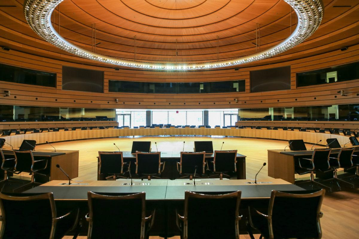 European Convention Center Luxembourg - Congress Hall