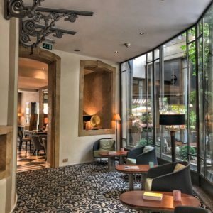 Hotel Le Place d'Armes - Couloirs 4