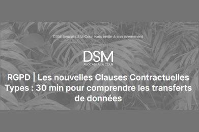 DSM RGPD